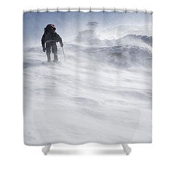 White Mountains New Hampshire - Extreme Weather Shower Curtain