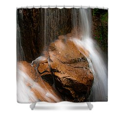 Shower Curtain featuring the photograph White Mountains Waterfall by Jason Moynihan