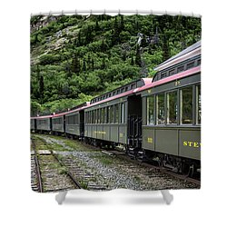 White Pass And Yukon Railway Shower Curtain