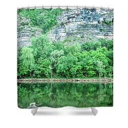 White River, Arkansas 4 Shower Curtain