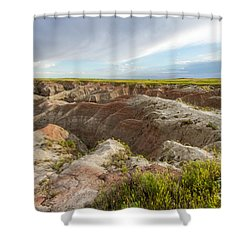 White River Valley Shower Curtain