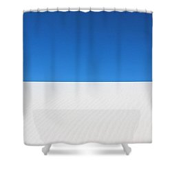 White Sands #8 Shower Curtain by Kume Bryant