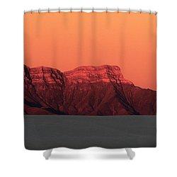 White Sands Dawn #1 Shower Curtain