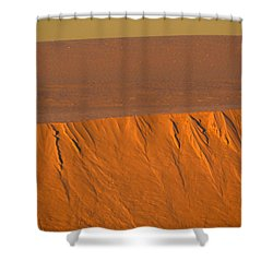 White Sands Dawn #12 Shower Curtain