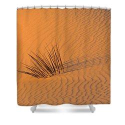 White Sands Dawn #20 Shower Curtain