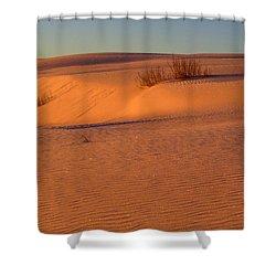White Sands Dawn #30 Shower Curtain