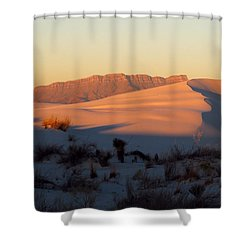 White Sands Dawn #32 Shower Curtain