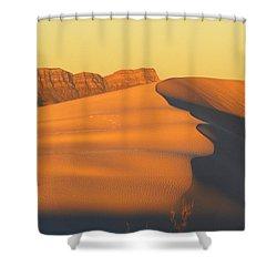 White Sands Dawn #33 Shower Curtain