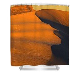 White Sands Dawn #44 Shower Curtain