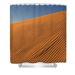 White Sands Dawn #61 Shower Curtain
