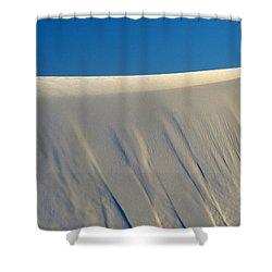 White Sands Dawn #65 Shower Curtain