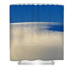 White Sands Dawn #68 Shower Curtain