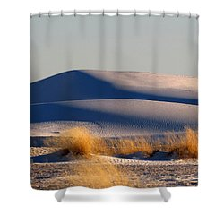 White Sands Evening #11 Shower Curtain