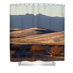 White Sands Evening #13 Shower Curtain