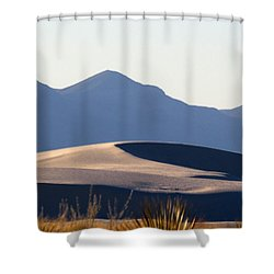 White Sands Evening #5 Shower Curtain