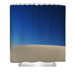 White Sands Evening #8 Shower Curtain
