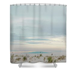 White Sands National Park Shower Curtain