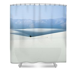 White Sands, New Mexico Shower Curtain