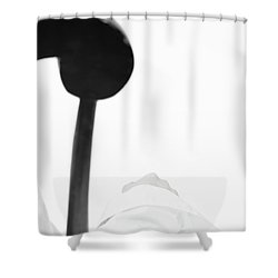 White Shirt #5578 Shower Curtain