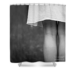 Shower Curtain featuring the photograph White Shirt by Andrey  Godyaykin
