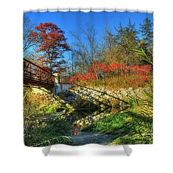 White Water State Park 2 Shower Curtain