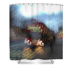 Shower Curtain featuring the photograph Whitehall by Alex Lapidus