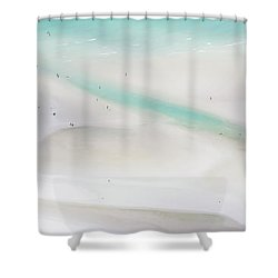 Shower Curtain featuring the photograph Whitehaven Wanderers by Az Jackson