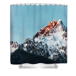 Whitehorse Sunrise Shower Curtain