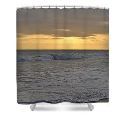 Whitewash Shower Curtain
