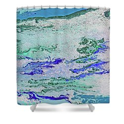 Whitewater Shower Curtain