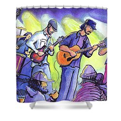 Whitewater Ramble At The Barkley Ballroom Shower Curtain