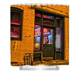 Whitey's Bar And Grill Shower Curtain