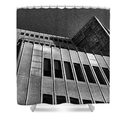 Whitney Museum West View Shower Curtain