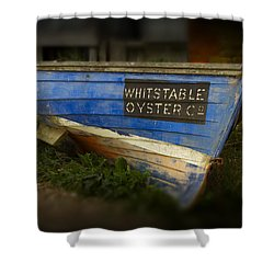Whitstable Oysters Shower Curtain by David French
