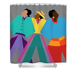 Who Dat Say Shower Curtain