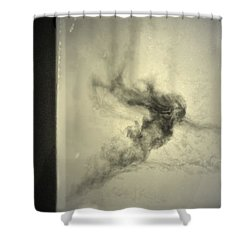 Who Follows You Shower Curtain by Mark Ross
