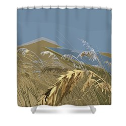 Who Has Seen The Wind? Shower Curtain