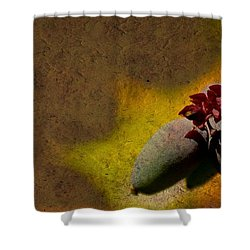 Who Knows Shower Curtain by Trish Tritz