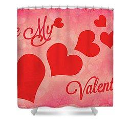 Whole Lotta Love Shower Curtain by Iryna Goodall