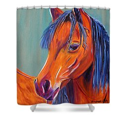 Whoopi Shower Curtain by Andrea Folts