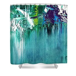 Whoosh Shower Curtain