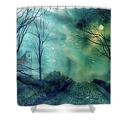 Whorlton Castle Shower Curtain