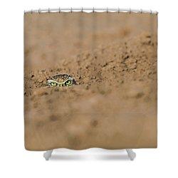 Whozat Shower Curtain