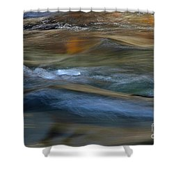 Whychus Creek Shower Curtain