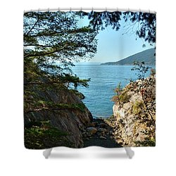 Whyte Cliff Park 2 Shower Curtain