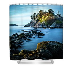 Whyte Islet Dawn Shower Curtain