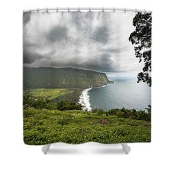 Wiapio Valley Shower Curtain