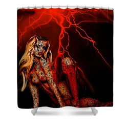 Wicked Beauty Shower Curtain by Tbone Oliver