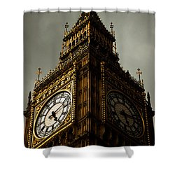 Wicked Division Shower Curtain by Andrew Paranavitana