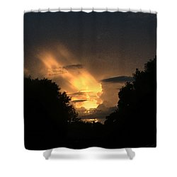 Wicked Sky Shower Curtain